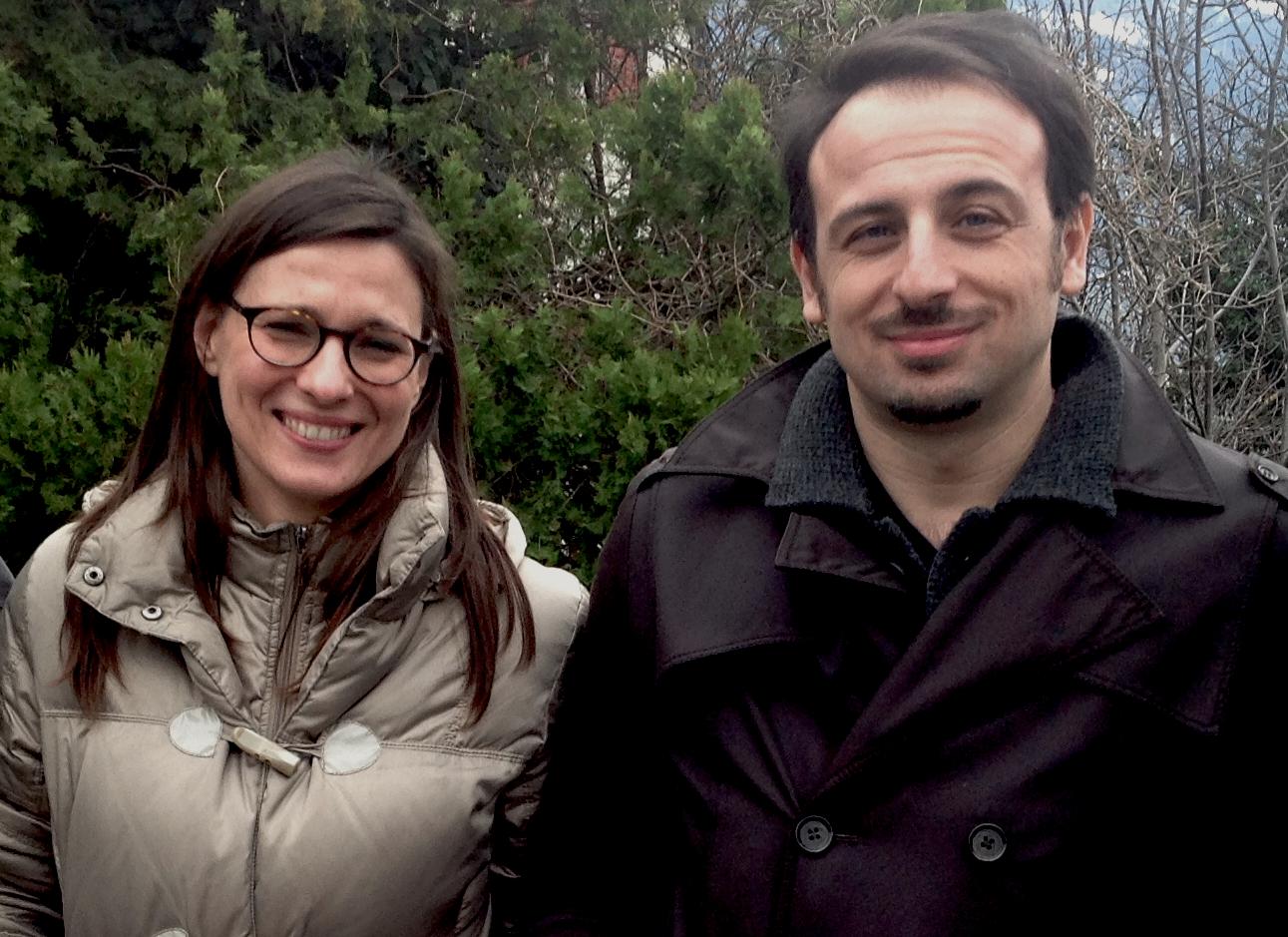 Jessica Fedeli e Luigi Maria Perotti