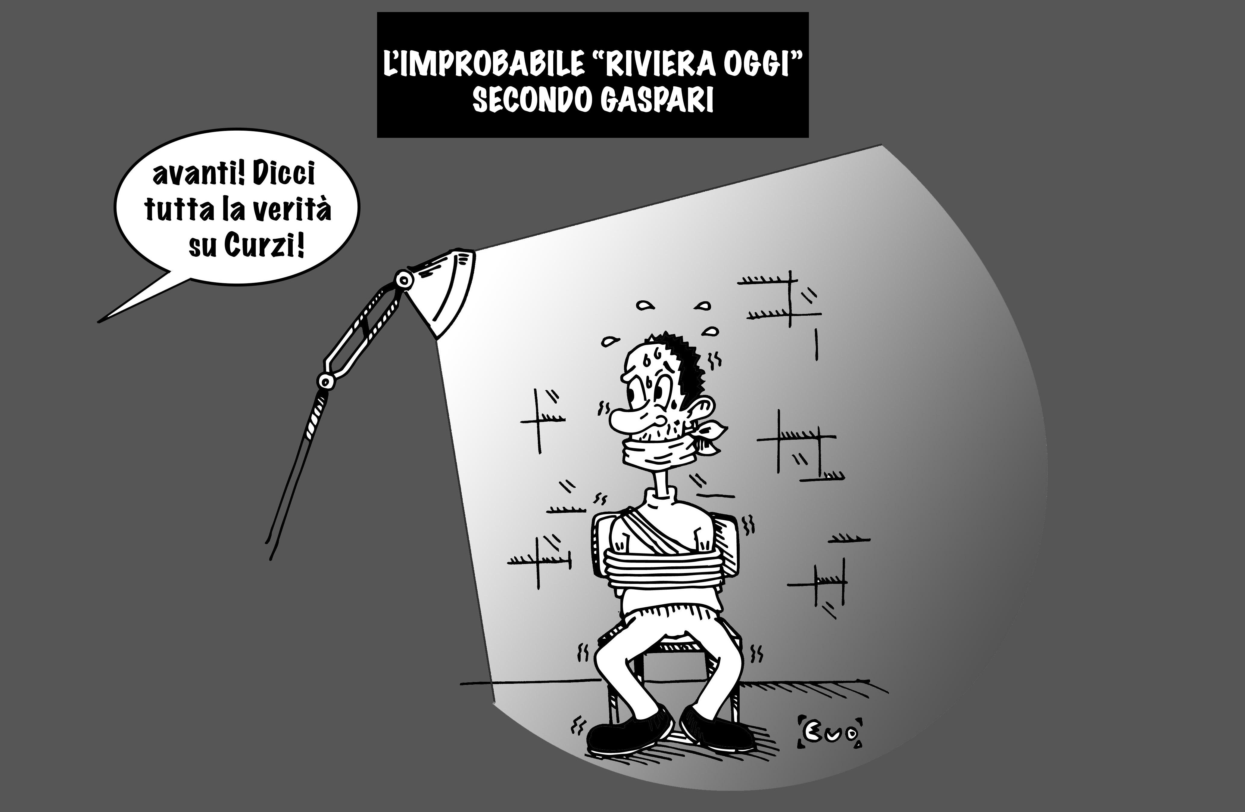 L'improbabile Riviera Oggi col sindaco Gaspari, di Evo