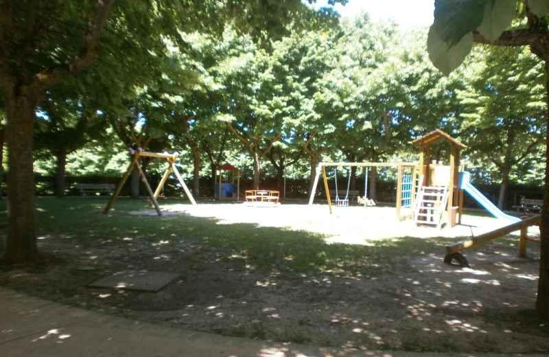 Parco sulla Valtesino a seguito della manutenzione ordinaria effettuata
