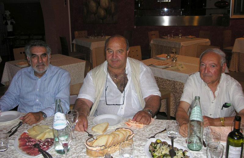 Tito Rubini, Angelo Marcozzi e Guido Rosati