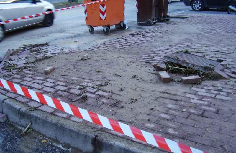 Situazione in via San Gabriele (2)