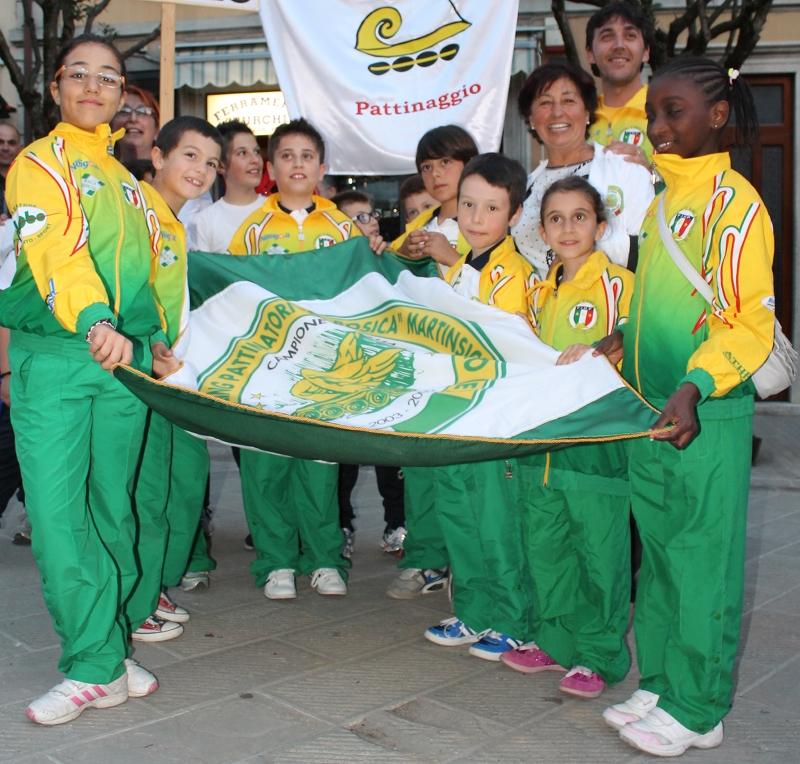i piccoli atleti del Team Bosica