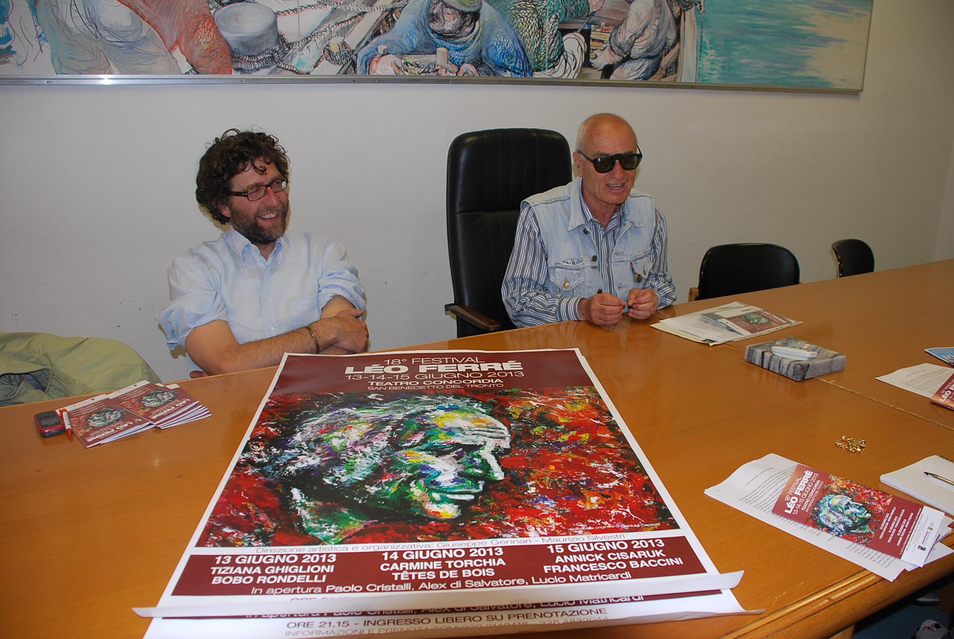 Presentazione festival Leo Ferrè