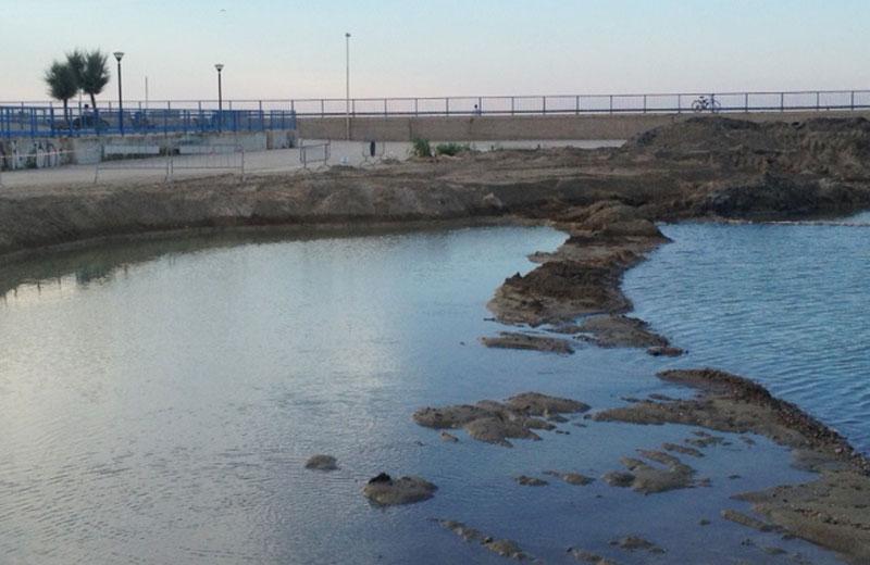 Il dragaggio al porto di Martinsicuro