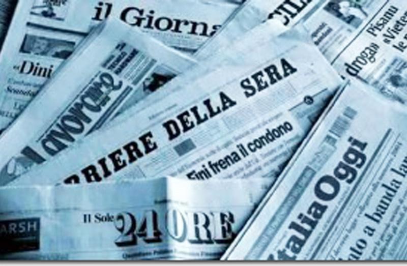 Alcuni giornali italiani