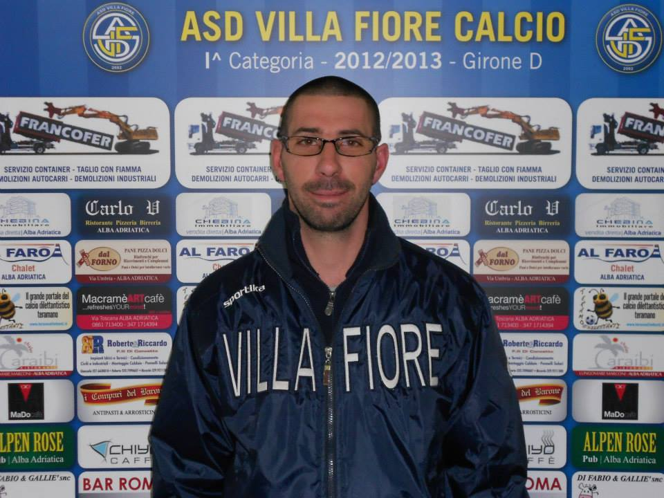 Il neo-presidente del Martinsicuro Luigi Di Egidio