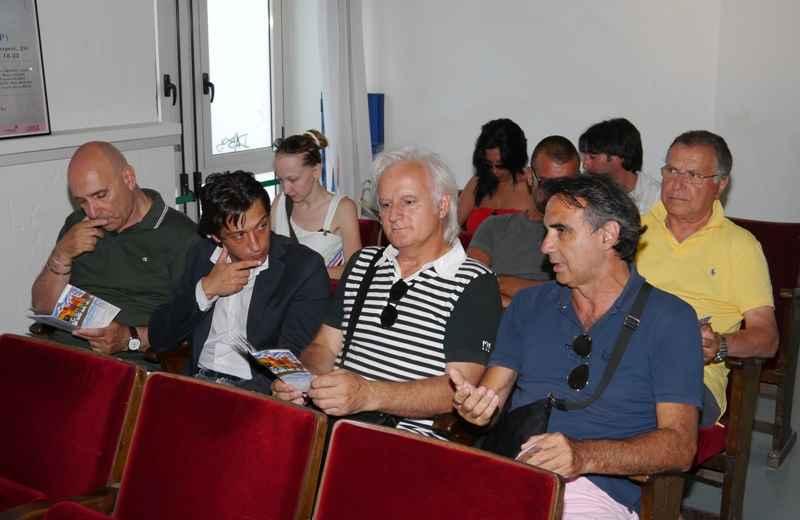 Cabaret Tour. Da sinistra, Tuttlio Luciani, Enrico Piergallini, Alessandro Ciarrocchi e Valter Assenti
