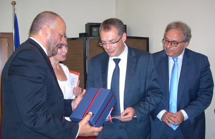 Gaspari, Radkov e Spacca