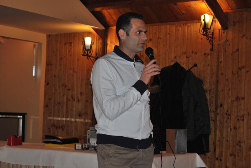 il presidente del Circolo Tennis Alduino Tommolini