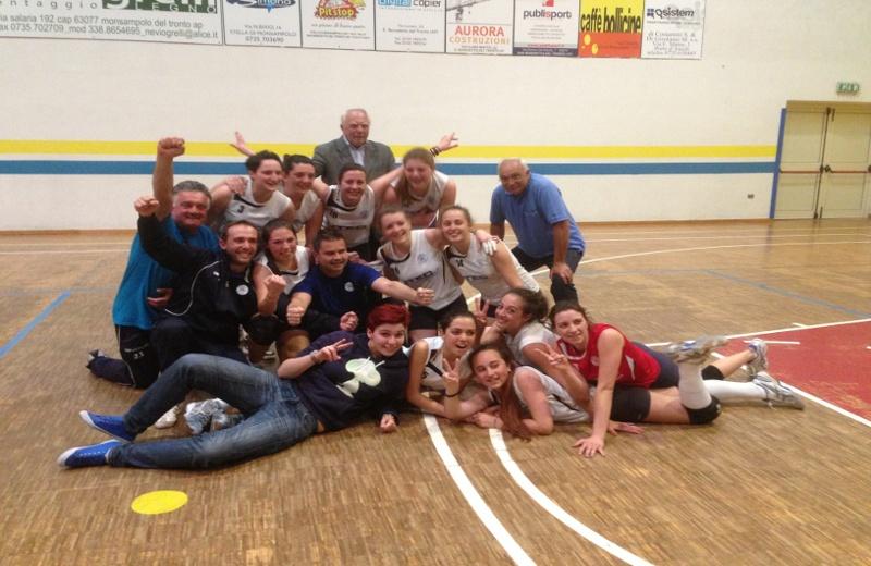Grottammare Volley, foto di gruppo