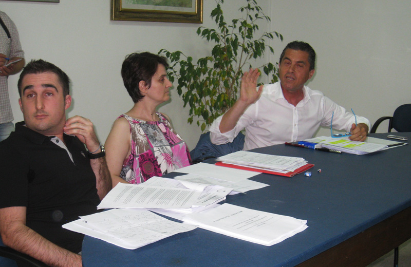 Enrico Di Sabatino, Graziella Cecchini, Augusto Di Stanislao