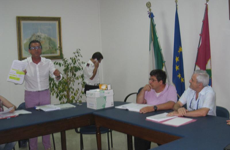 Augusto Di Stanislao nel Consiglio comunale di Colonnella