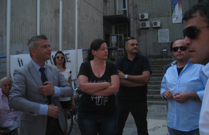 Paolo Camaioni, Debora Vallese e Massimo Corsi