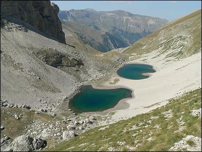 Il lago di Pilato, sulla Vetta del Monte Vettore, è una delle mete dei tour organizzati da Piceno Pass