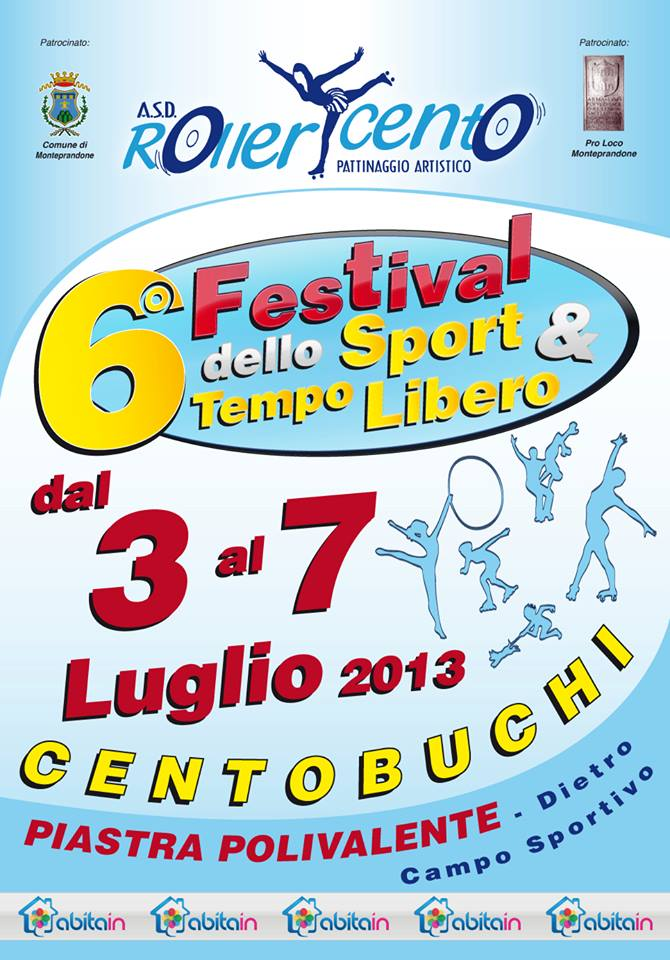 Locandina Festival dello Sport
