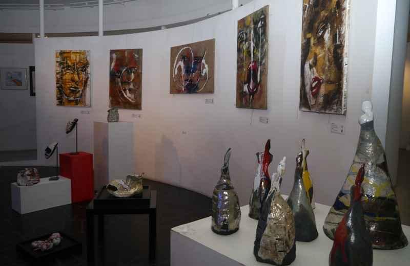 Material Light, opere di Tania Peli