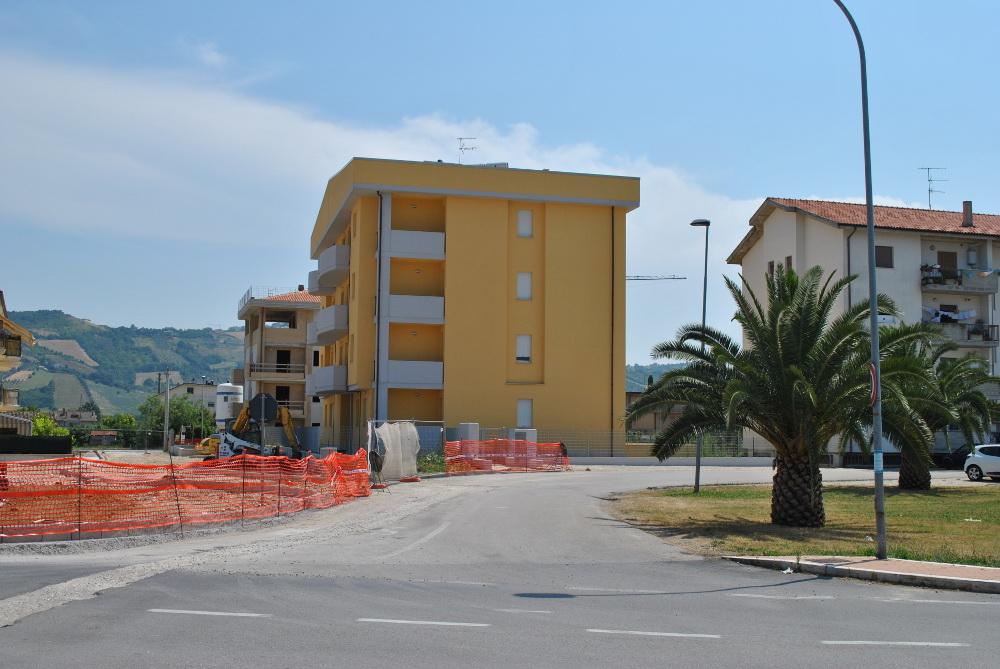 La nuova palazzina Erap a Centobuchi