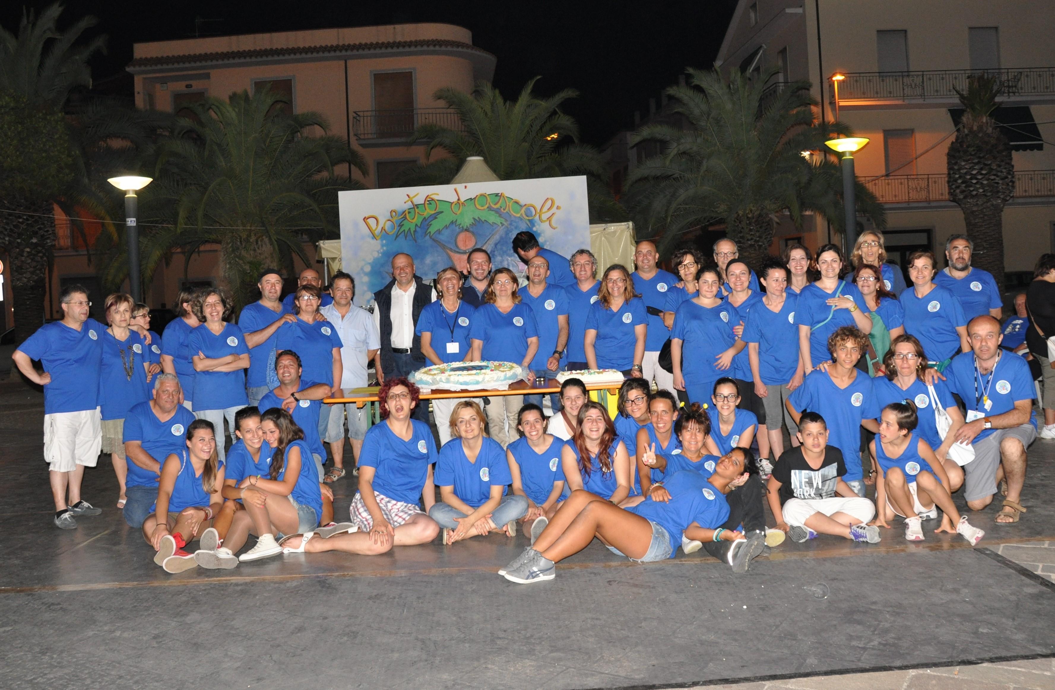 Seconda festa dell'associazione commercianti Porto d'Ascoli al centro