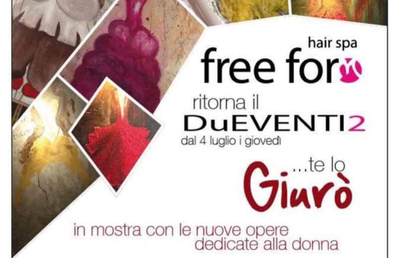 Vernissage di Giurò al Freeform