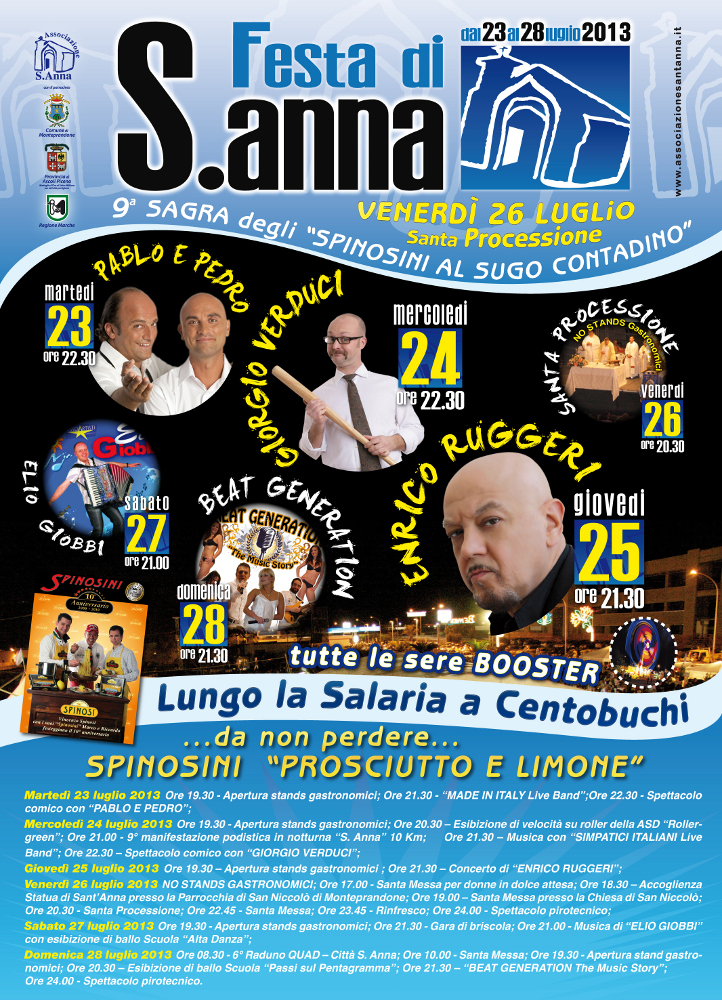 Manifesto Sant'Anna