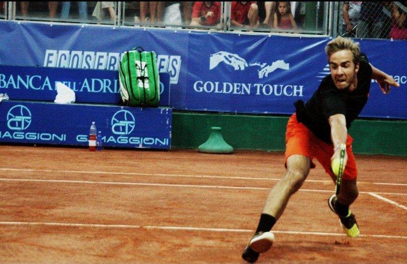 Andrej Martin durante un incontro