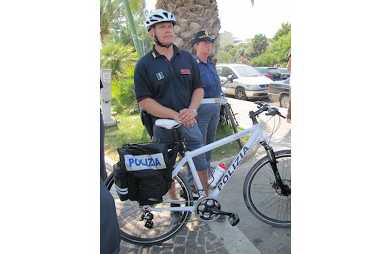 Agenti in bicicletta