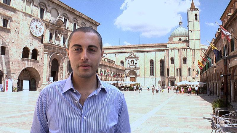 Alessio Lossano di PicenoPass ad Ascoli Piceno