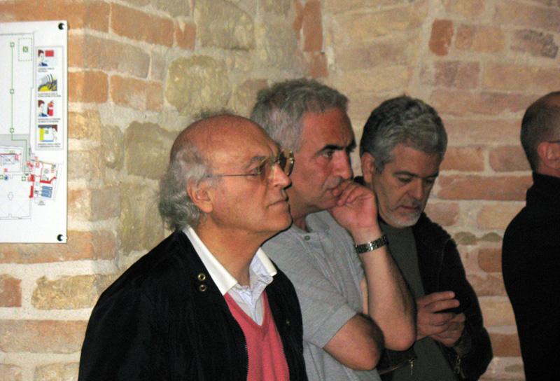 Franco Zazzetta al convegno 'Manoscritto 22' tenutosi nel sotterraneo di Palazzo Piacentini domenica 16-05-2010