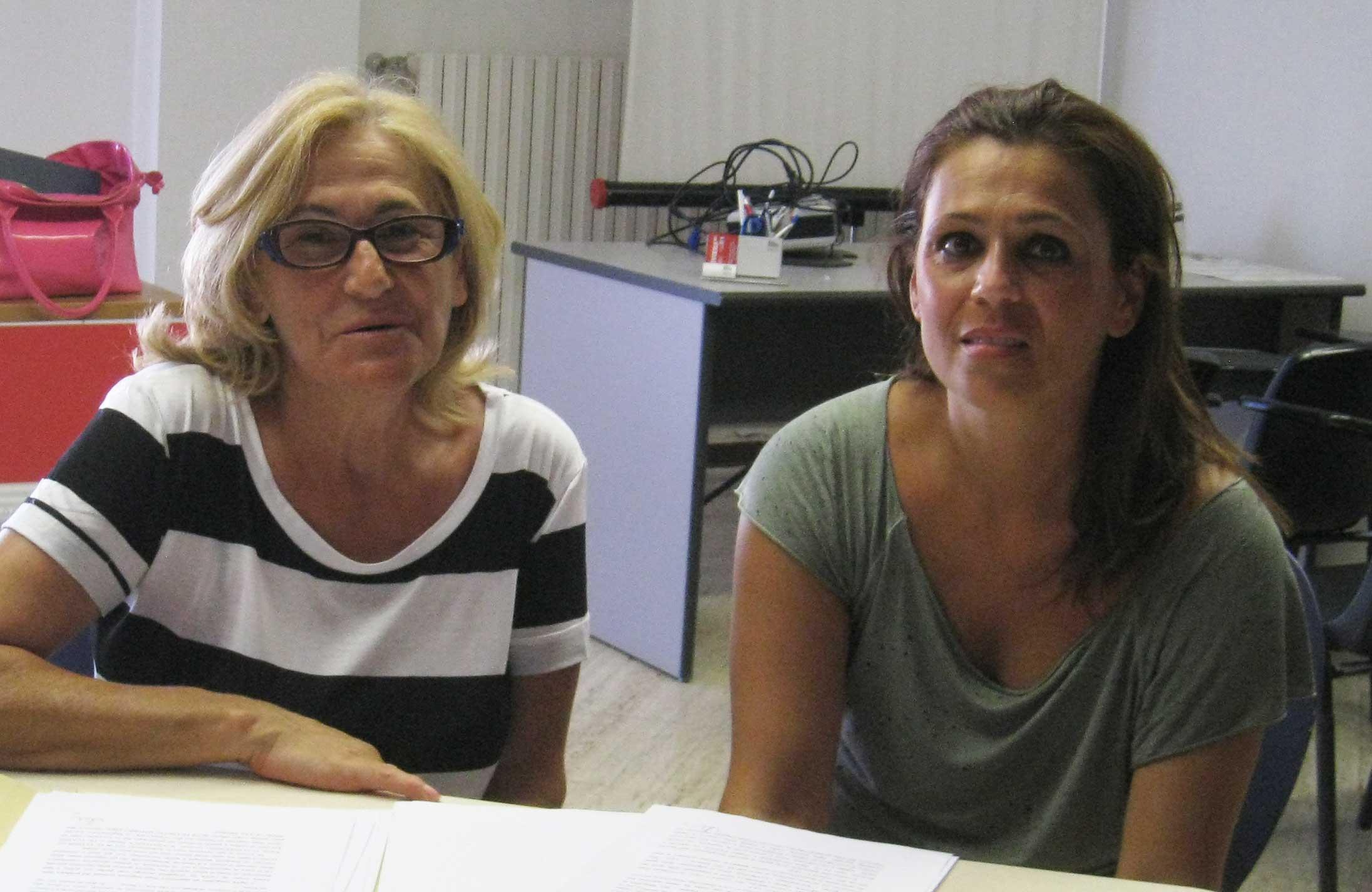 Nita D'Orazio e Ilaria Nicodemi