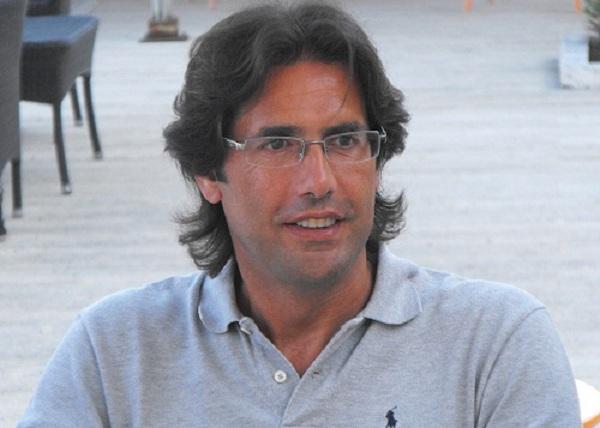 Luigi Zaini tecnico del Grottammare, squadra che guidò anche nella stagione 2011-12