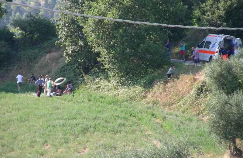 Luogo dell'incidente del 16 agosto