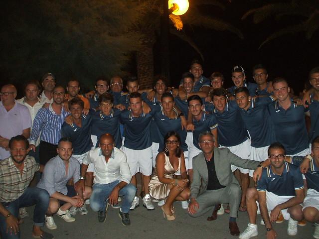 La presentazione della squadra del Martinsicuro Calcio