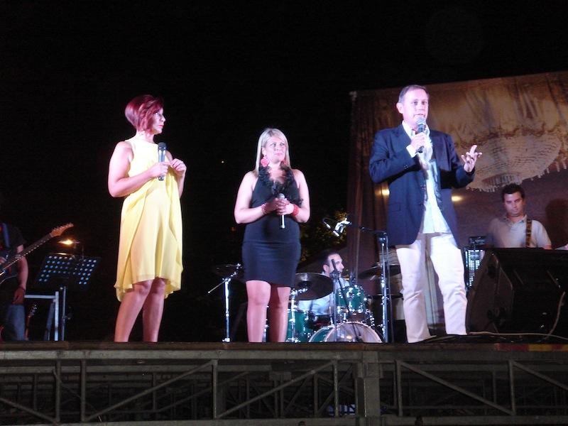 Sandro Avigliano sul palco
