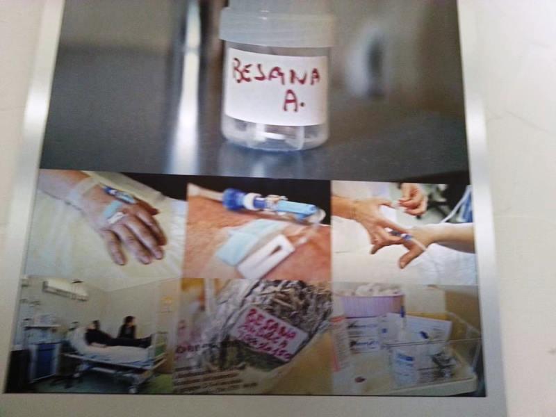 Una foto della mostra La storia di Andrea