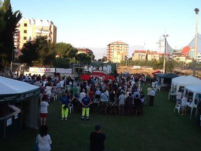 Messa celebrata sabato 17 agosto con la partecipazione del Vescovo