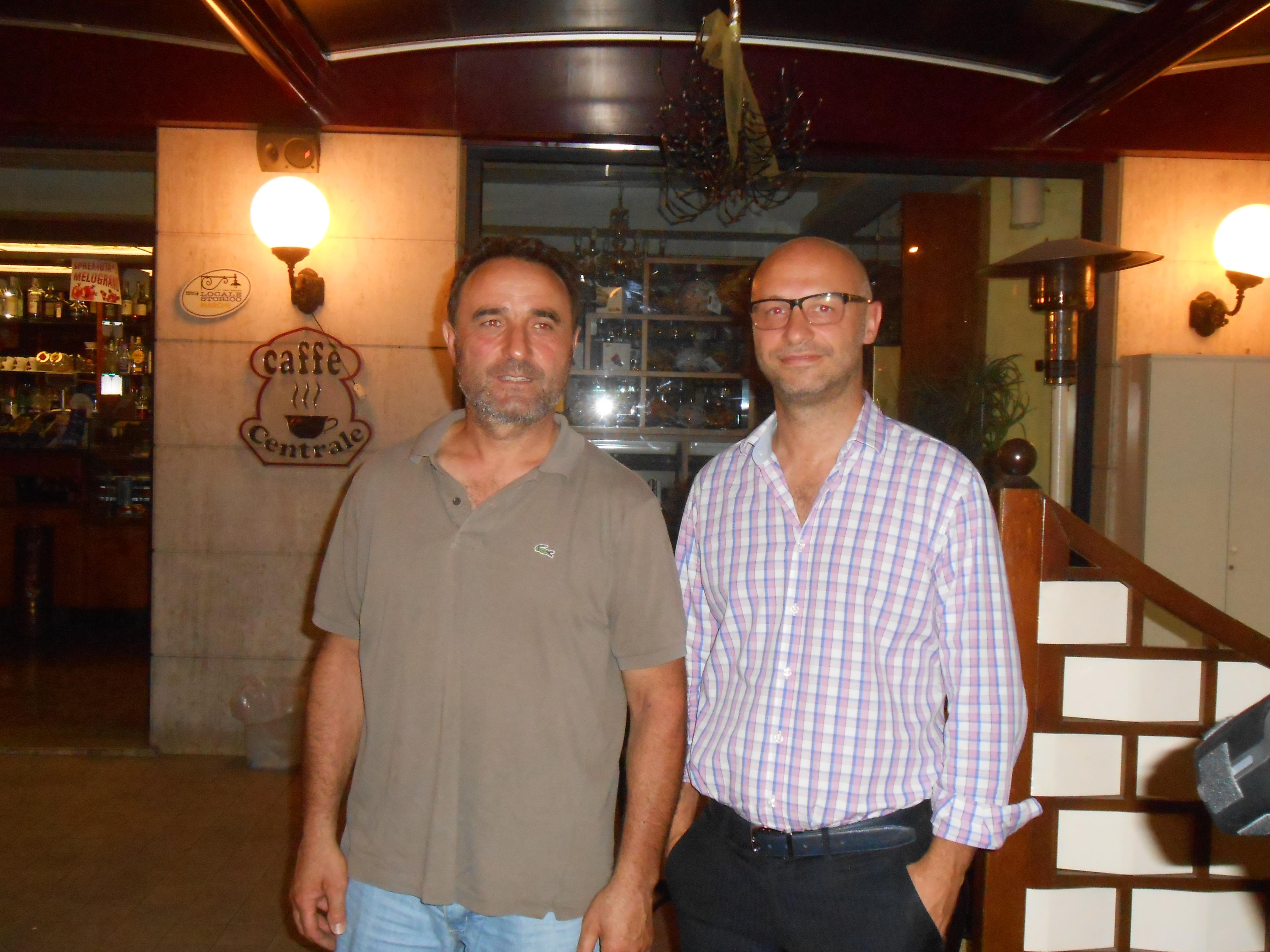Marino Lattanzi e Stefano Barbizzi