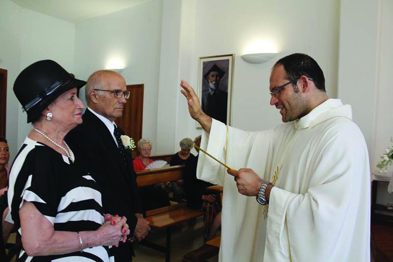 Il momento più importante della cerimonia (Ph. Sofia Passarelli Pula)