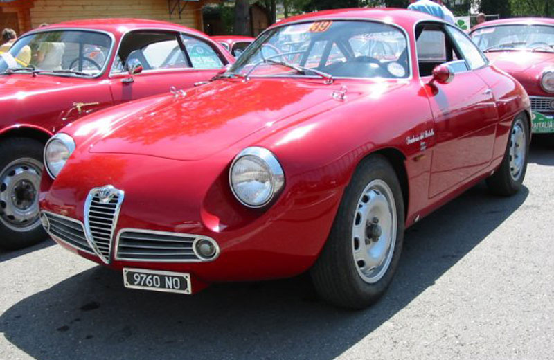 Alfa romeo giulietta sz chassis numbers