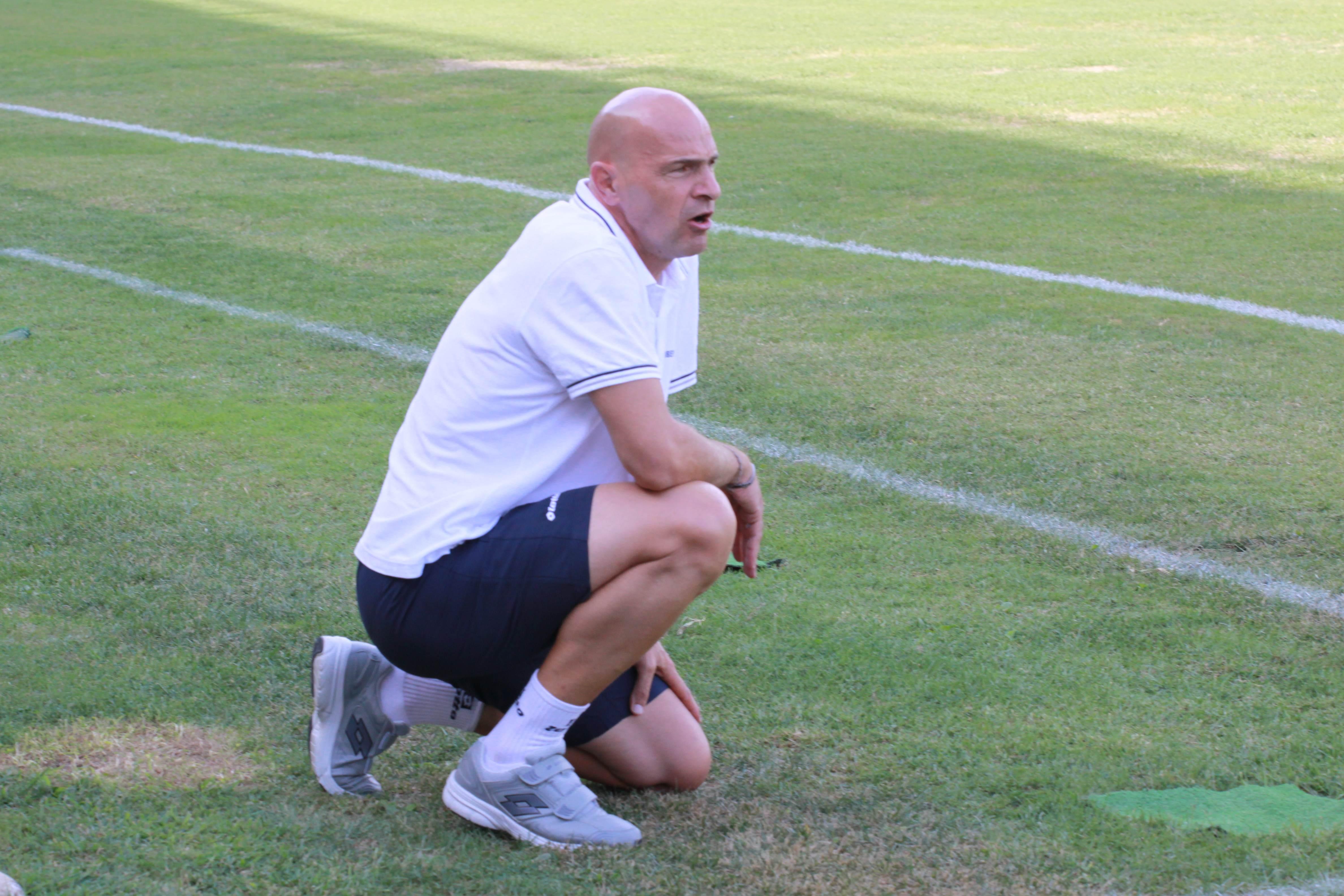 Andrea Mosconi, allenatore rossoblu