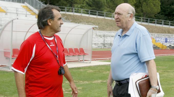 Guido Di Fabio e Claudio Cicchi. Foto tratta da Il Resto del Carlino-Macerata
