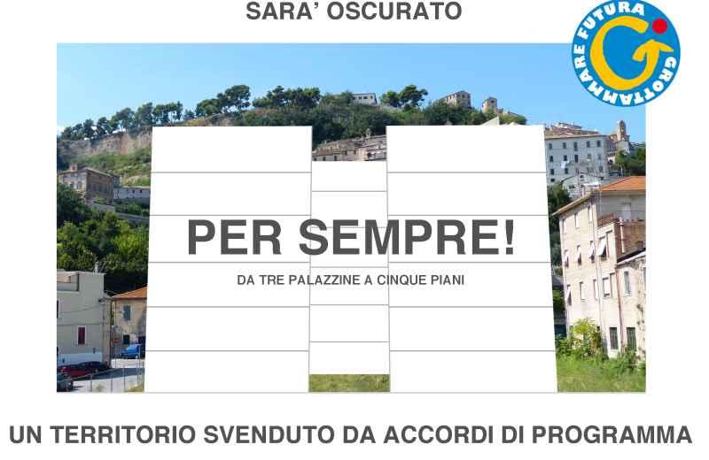 Manifesto di Grottammare Futura sull' ex Cardarelli