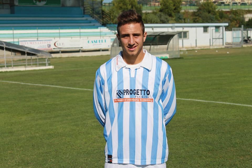 Matteo Calvaresi al primo centro stagionale