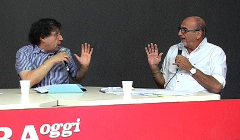 Roberto Pignotti con Nazzareno Perotti