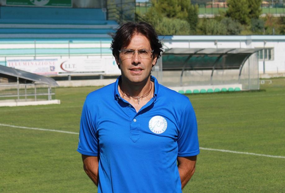 Luigi Zaini, allenatore biancazzurro