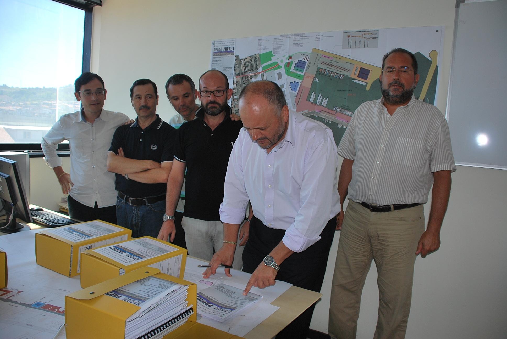 Gaspari firma il piano del porto