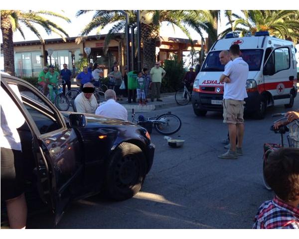 l'incidente avvenuto nei pressi della rotonda Las Palmas