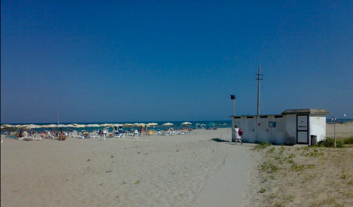 Il tratto di spiaggia dove è avvenuta la tragedia