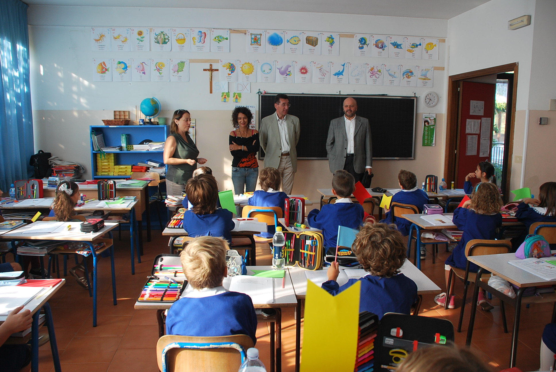 Visita alla scuola Nicola Miscia