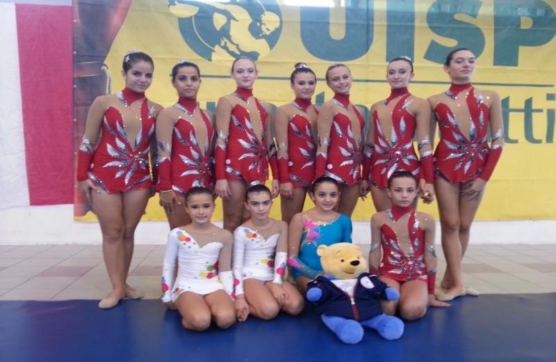 Le ginnaste della Asd Progetto Ritmica San Benedetto