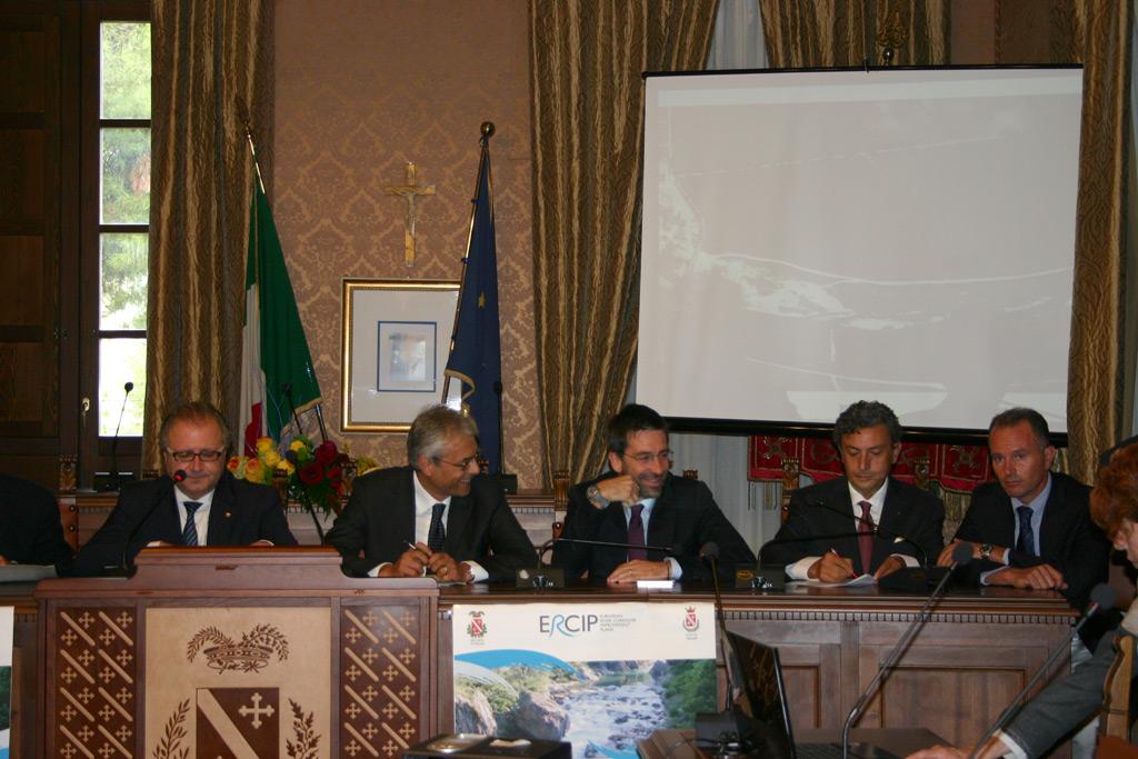 Valter Catarra, Gianni Chiodi e Mauro Di Dalmazio
